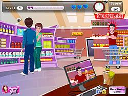 Gioca gratuitamente a Supermarket Kissing