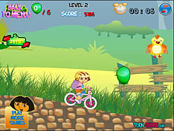 Dora's Bike Ride game