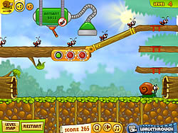 無料ゲームのSnail Bob 2をプレイ