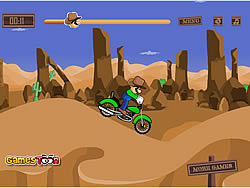 Luigi Bike game