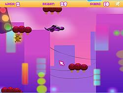 Midnight Ninja Leaping game