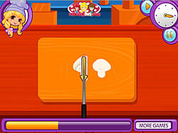 Lily's A Pizza Maker game