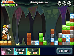 Digging Diamonds game