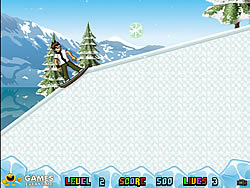Ben 10 Ice Skates Spiel