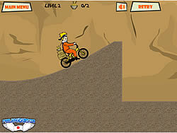 Naruto Bike spel