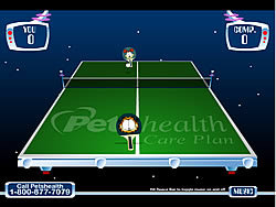 Game Garfield's Ping Pong