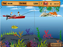 Game Ben 10 Fishing Pro