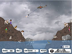 Irene Hurricane Mission Rescue spel