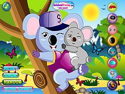 Game Cool Koala Dress Up