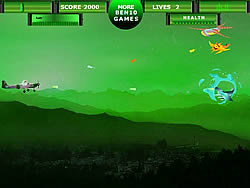 Game Ben 10 Air Strikes