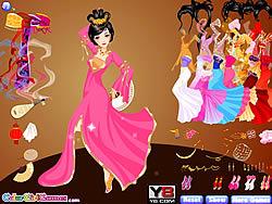 Dancing Chinese Princess