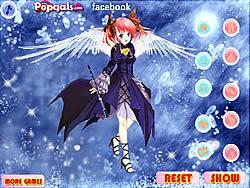 Permainan Music Angel Dress Up