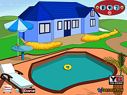 Game Swimming Pool Decoration