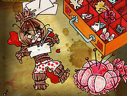 Voodoo Doll dress-up game