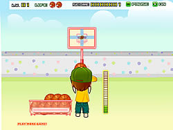 Backyard Basketball game