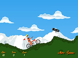 Game Naruto Bicycle Game