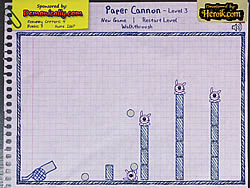 Game Paper Cannon