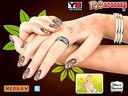 Nail Makeover game
