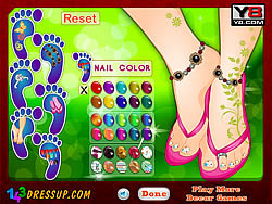Game Beautiful Foot Manicure