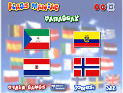 Flags Maniac game