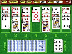 Game Crystal Golf Solitaire
