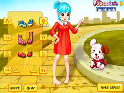 Permainan Cute Girl and Puppy