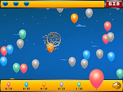 Permainan Crazy Balloon Shooter