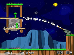 Juego Sheep vs Aliens