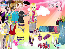 Gioca gratuitamente a Cutie Dress Up 6