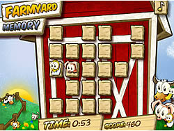 Farmyard Memory game