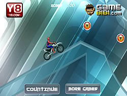 Spiderman Ice Bike لعبة