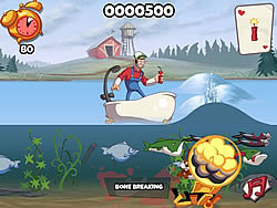 Super Dynamite Fishing game