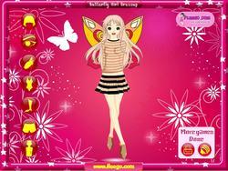 無料ゲームのButterfly Girlをプレイ