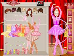Miss Ballerina Dress Up game