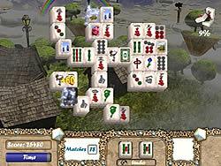 Spielen Sie das Gratis-Spiel  Aerial Mahjong