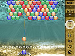 Seabed Bubble 2 game