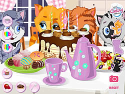 Juego Kitty Tea Party
