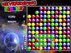Neverending Bubbles game