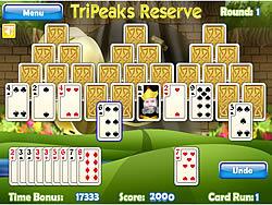 無料ゲームのTripeaks Reserveをプレイ