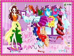 Dancing Girl Dress Up game