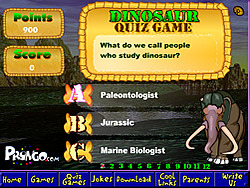 Dinosaur Quiz Game  joc