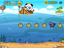 Game Fishing Panda