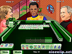Obama Traditional Mahjong
