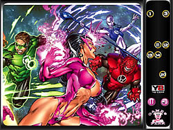 gra Hidden Numbers-Green Lantern