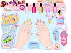 Gioca gratuitamente a Nail Art Salon