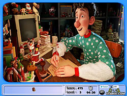 無料ゲームのArthur Christmas Hidden Objectsをプレイ