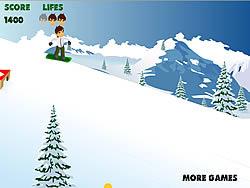 Играть бесплатно в игру ben 10 snowboard