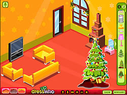Juega al juego gratis Winter Lodge Deco