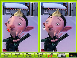 Arthur Christmas - Spot the Difference