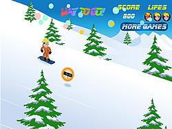 Naruto Snowboarding Spiel